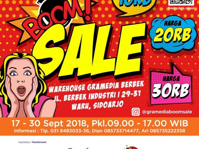 Gramedia Boom Sale