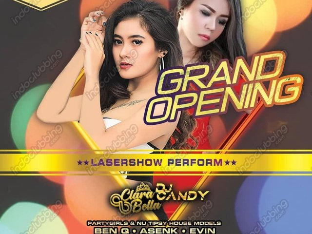 Grand Opening nu tipsy