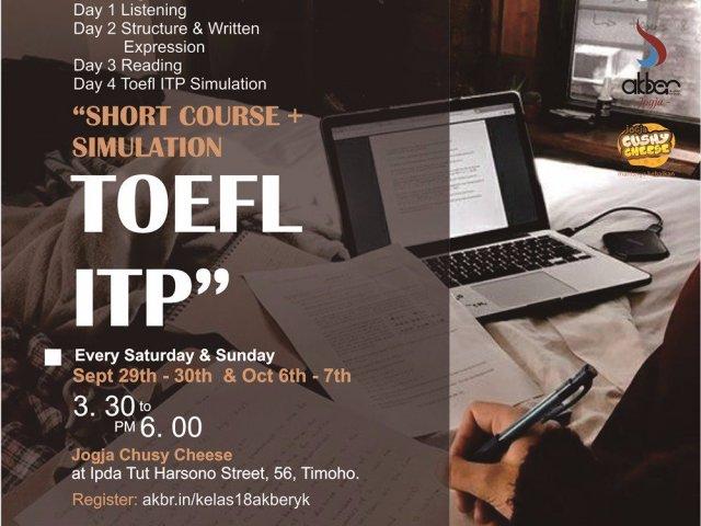 Short Course : TOEFL ITP plus Simulation