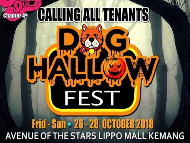Dog Hallow Fest Lippo Mall Kemang