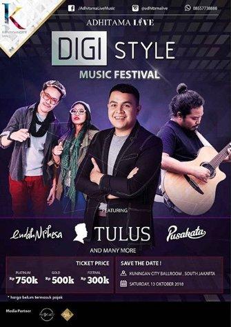 Adhitama Live Digistyle Music Festival