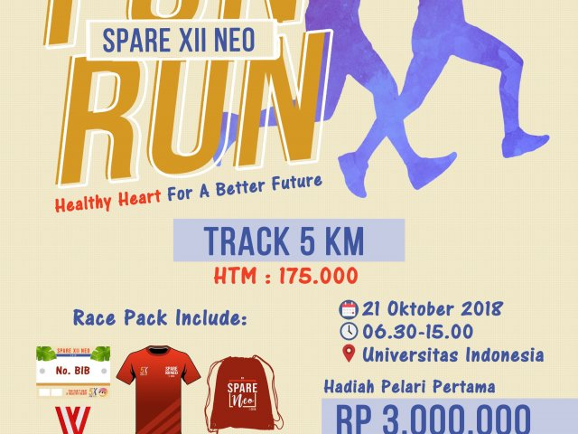 SPARE XII NEOs FUN RUN