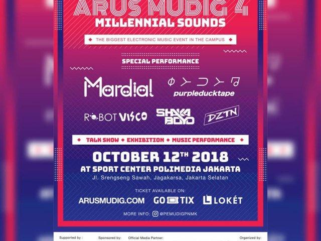 ARUSMUDIG4 Millennial Sounds