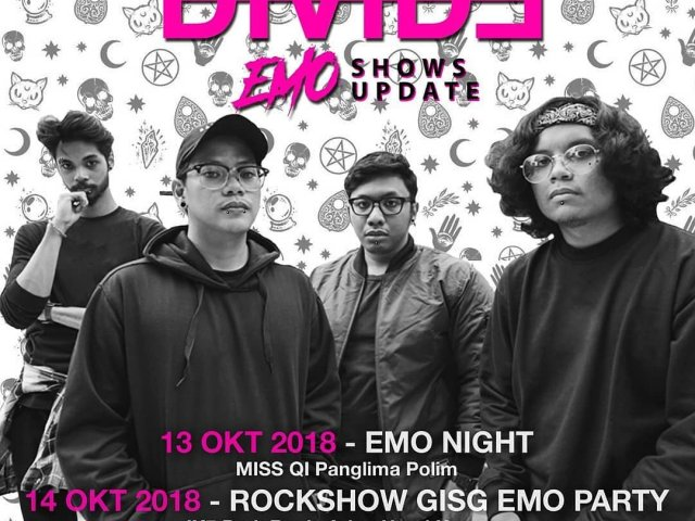 Divide Emo Shows Update