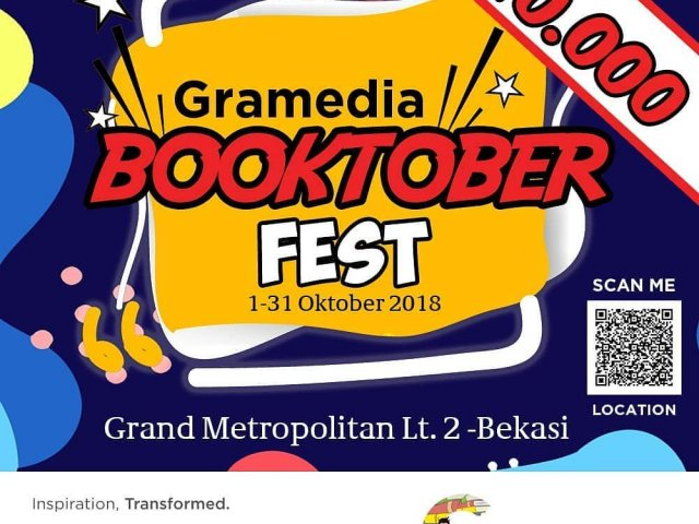 Gramedia Booktober Fest