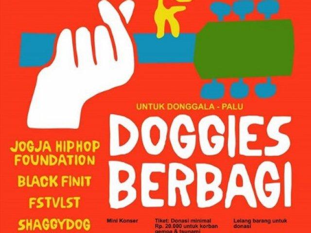 Doggies Berbagi with Shaggydog