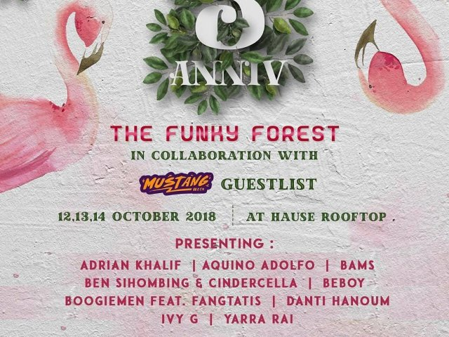 The Funky Forest 3rd Anniv