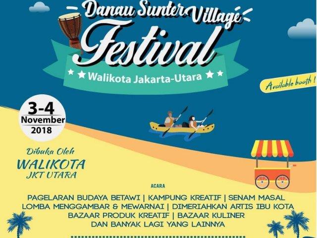 Danau Sunter Village Festival