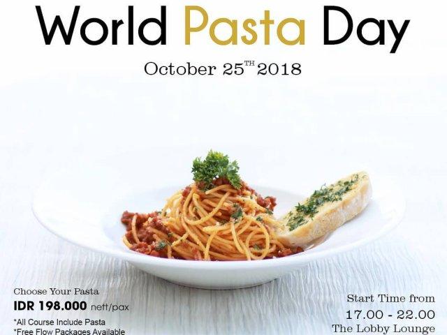 World Pasta Day 2018
