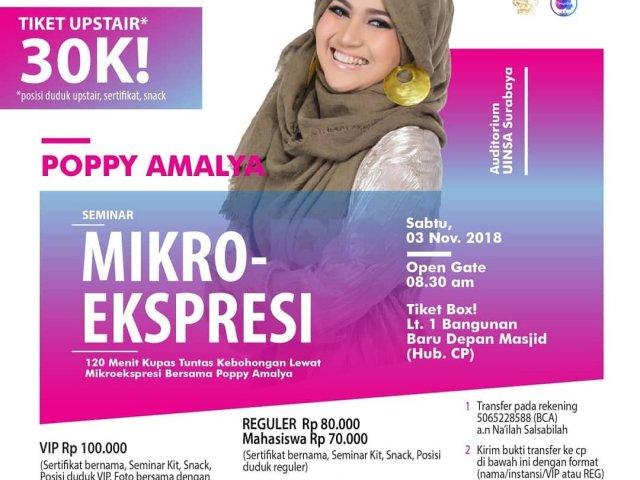 Seminar Mikro Ekspresi with Poppy Amalya