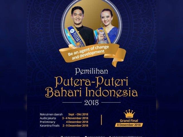 Pemilihan Putera Puteri Bahari Indonesia 2018