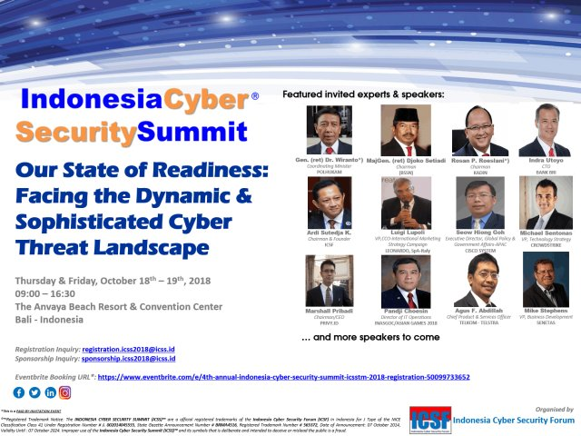 Indonesia Cyber Security Summit