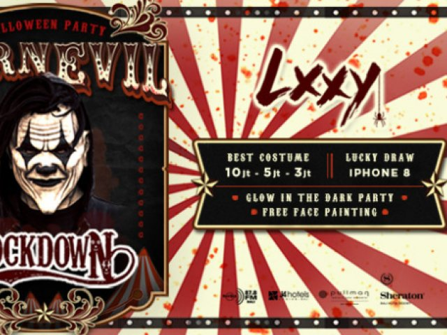 LXXY BALI HALLOWEEN PARTY