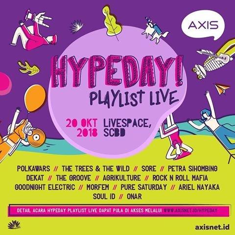 Hypeday Playlist Live