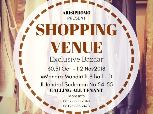 SHOPPING VENUE EXCLUSIVE BAZAAR