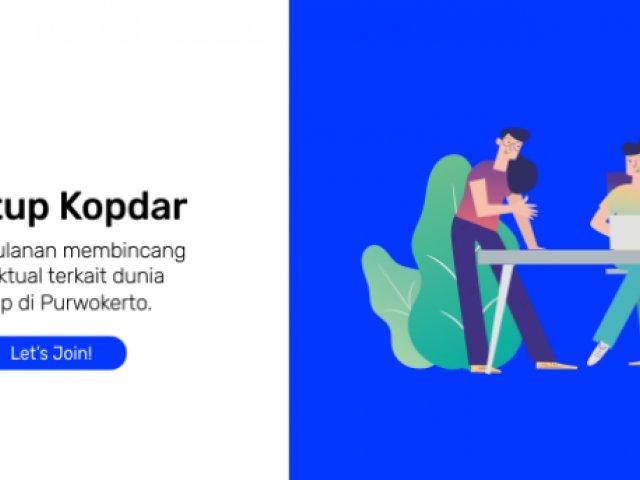 Kopdar Startup Batch Peluang & Tantangan Startup di Banyumas