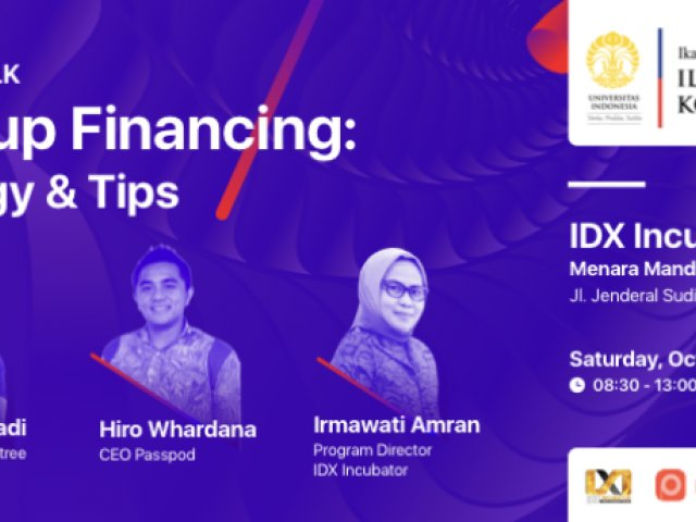 ILUNI 12 TALK Startup Financing Strategy & Tips