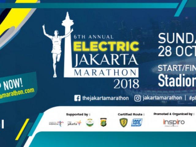 Electric Jakarta Marathon 2018