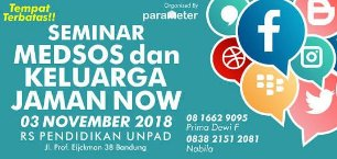 Seminar Medsos dan Keluarga Jaman Now
