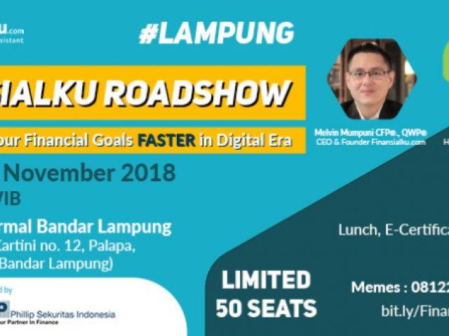 Finansialku Roadshow Lampung