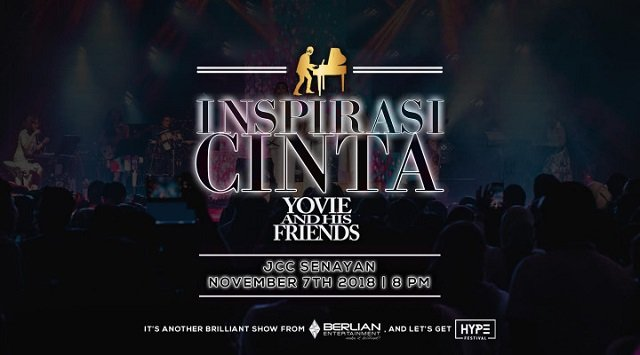 INSPIRASI CINTA YOVIE AND HIS FRIENDS