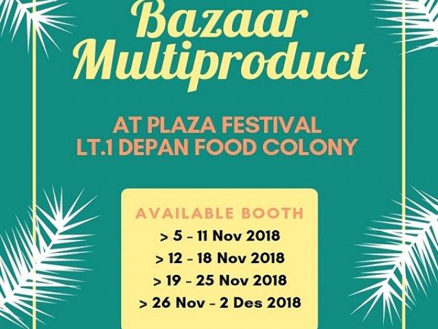 Bazar Multiproduct  Jakarta 2018