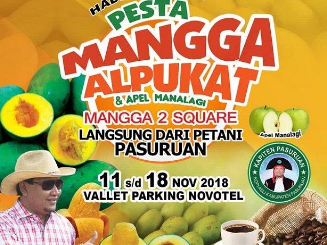Pesta Mangga Alpukat dan Apel Manalagi