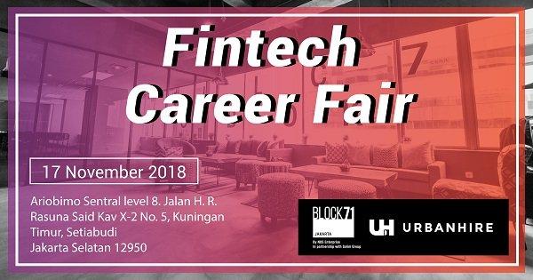Fintech Career Fair 2018