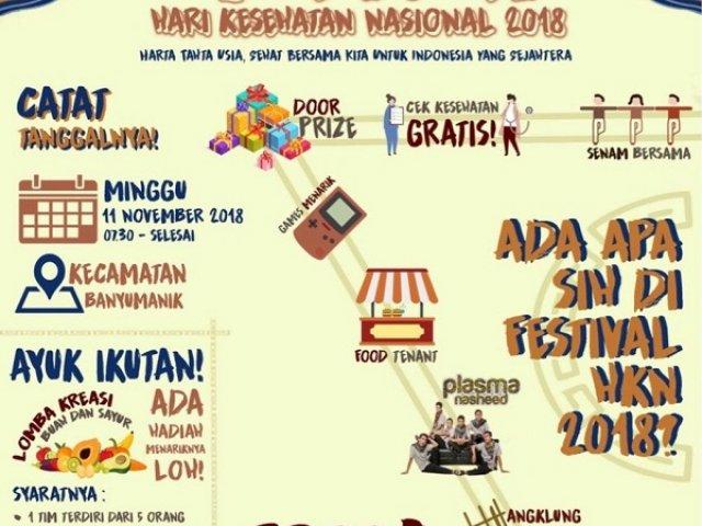 Festival Hari Kesehatan Nasional 2018