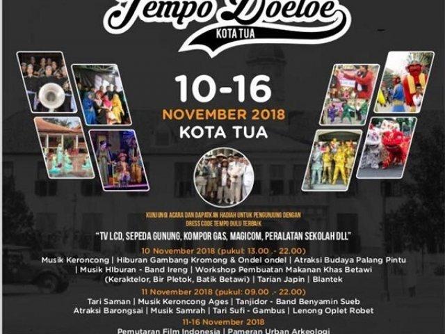 Festival Tempo Doeloe Kota Tua 2018