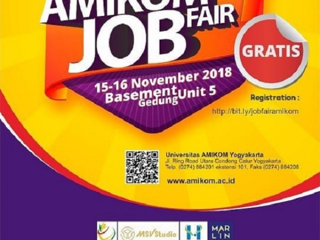 AMIKOM Job Fair 2018