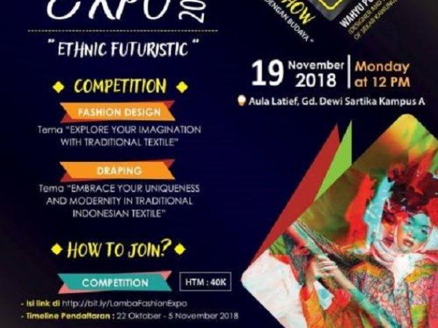 Fashion Expo 2018 Ethnic Futuristic