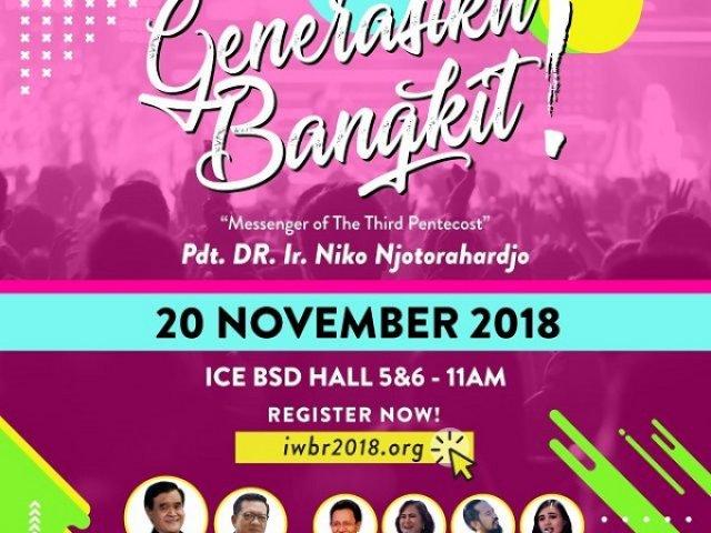 Indonesia Warrior Bride Revival (IWBR) 2018