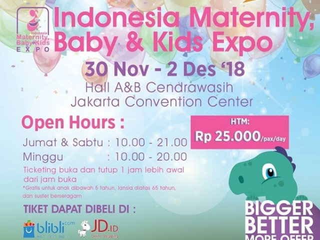Indonesia Maternity, Baby & Kids Expo 2018