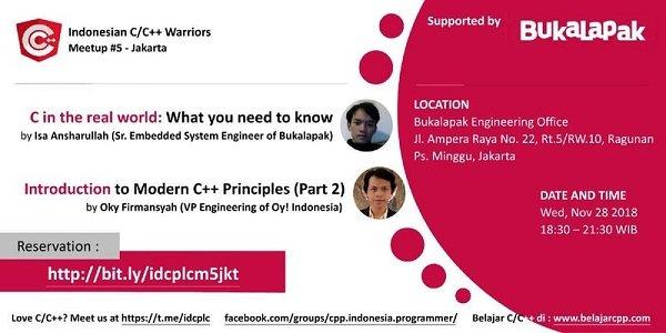 Indonesian C/C++ Warriors Meetup Jakarta