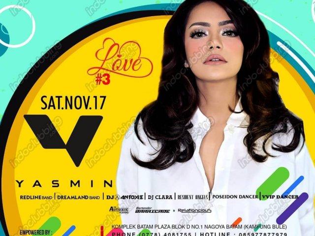 Dj Yasmin Foreplay Club Batam