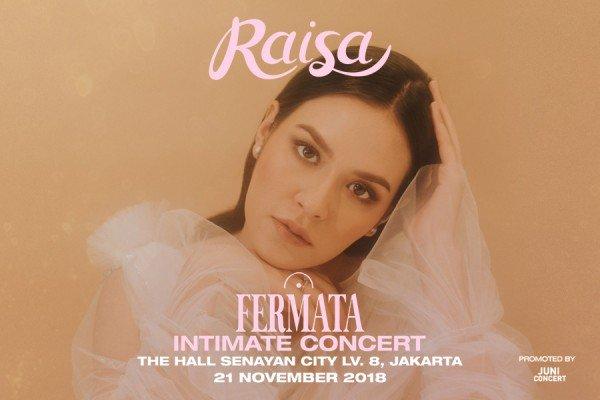 Raisa Fermata Intimate Concert 2018