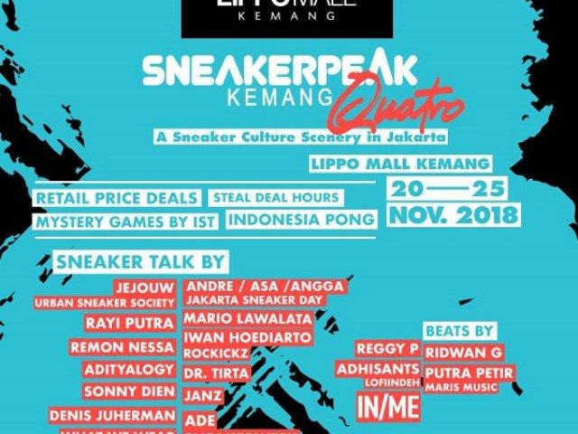 Sneakerpeak Kemang Quatro