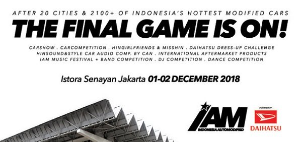 INDONESIA AUTOMODIFIED (IAM) JAKARTA FINAL BATTLE