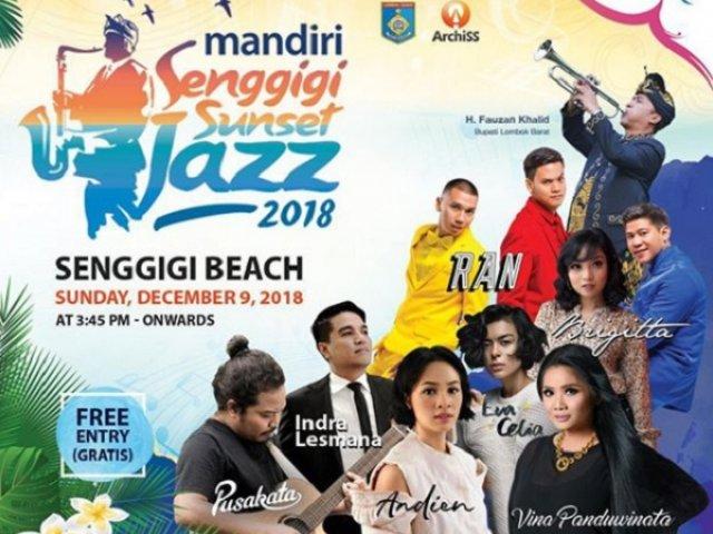 Mandiri Senggigi Sunset Jazz 2018