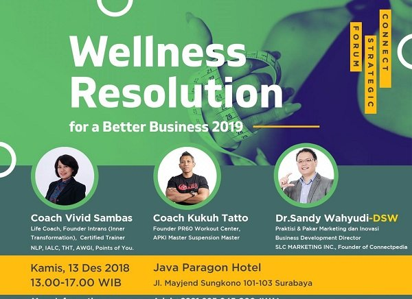WELLNESS RESOLUTION for a Better Business 2019