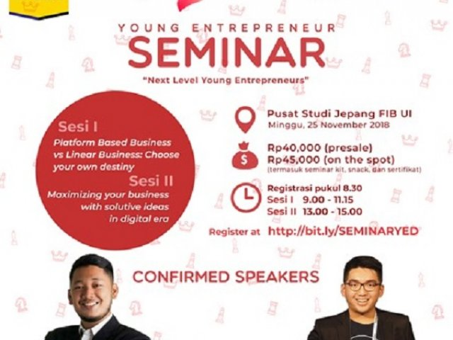 Young Entrepreneur Seminar Next Level Young Entrepreneur