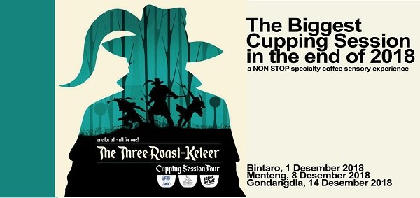 THE THREE ROAST-KETEER Cupping Session Tour