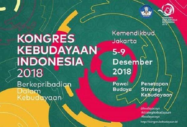 Kongres Kebudayaan Indonesia 2018