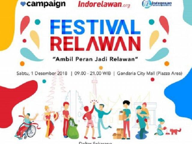 "Festival Relawan ""Ambil Peran Jadi Relawan"""