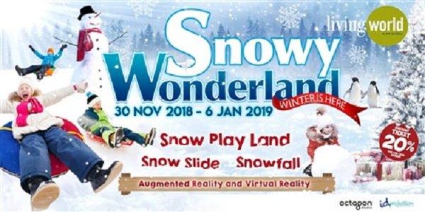 """Snowy Wonderland """"Winter is Here"""""""
