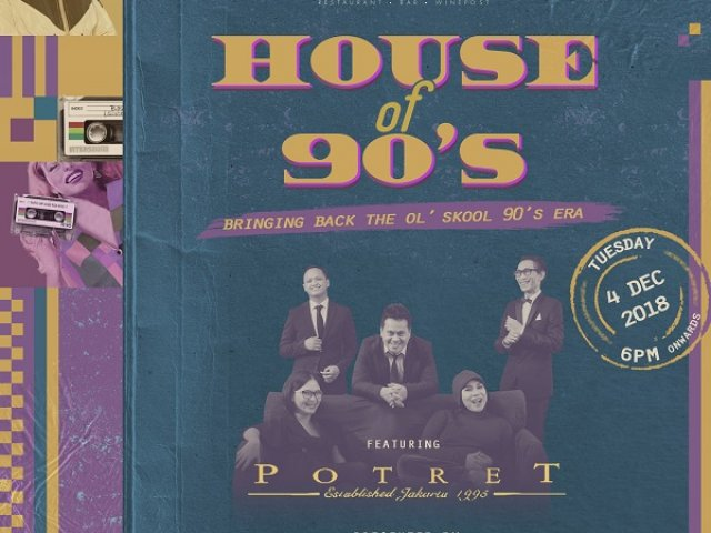 Social House House of 90s feat Potret