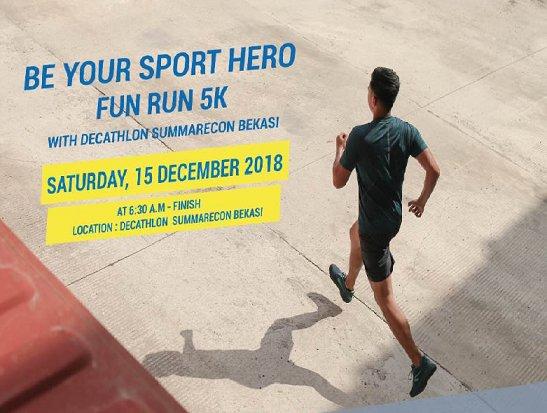Decathlon Summarecon Bekasi Fun Run 5K