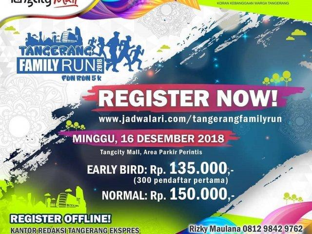 Tangerang Family Run 2018