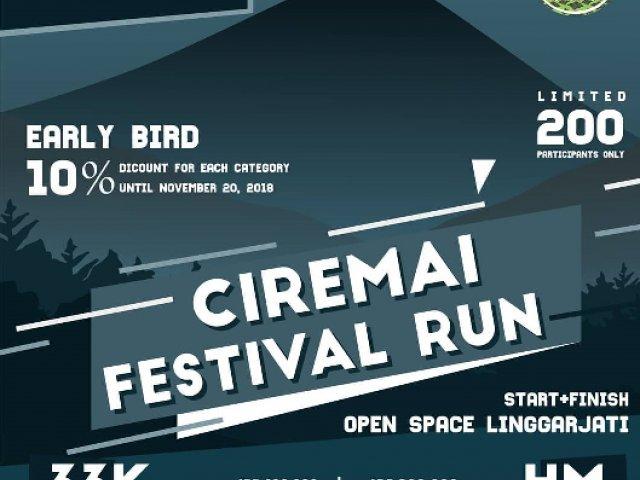 Ciremai Festival Run 2018
